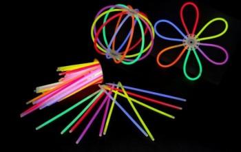 100 x Arm-Knicklichter 200x5mm Multicolor
