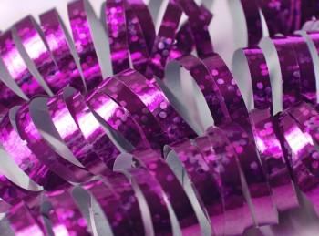 Hologramm Luftschlangen - Pink