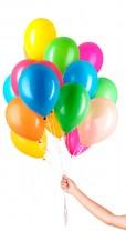 30 Luftballons Multicolor Mix Set