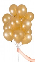 30 Luftballons - Gold Metallic - Set