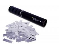 28cm Konfetti Shooter - Metallic Konfetti - Silber