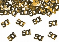 Streukonfetti - 50! - Gold