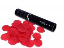 28cm Konfetti Shooter - Rosenblätter Konfetti - Rot