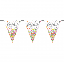 Wimpelkette  | Party | 10m