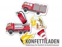 XXL Konfetti - Feuerwehr