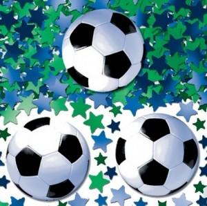 Streukonfetti - Fußball - WM Party