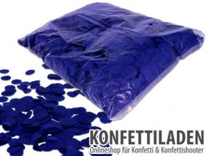 15mm SFP Konfetti Kreise - Blau