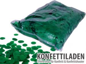 15mm SFP Konfetti Kreise - Grün