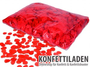 15 mm SFP Konfetti Kreise - Rot