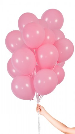 30 Luftballons - Hell Pink - Set