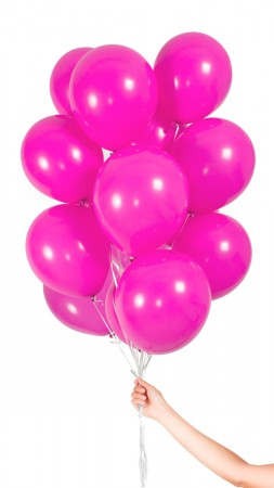 30 Luftballons - Magenta - Set