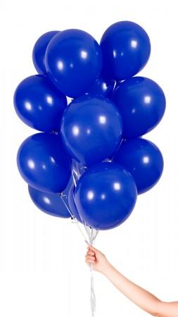 30 Luftballons - Dunkelblau -Set