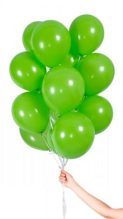 30 Lufballons - Hellgrün - Set