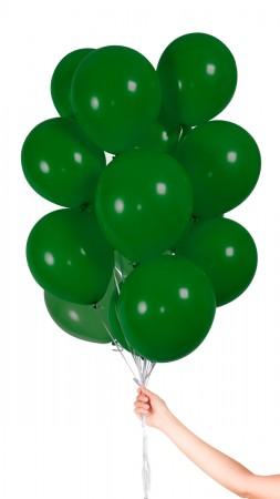 30 Luftballons - Grün - Set
