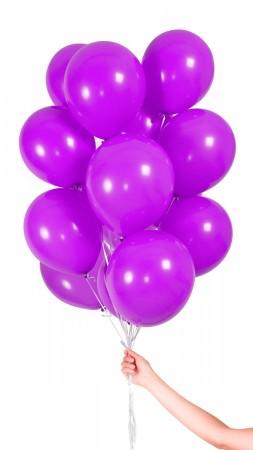 30 Luftballons - Lila - Set
