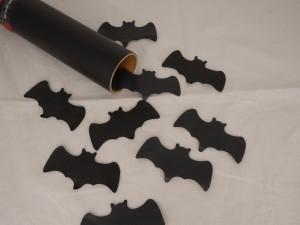 28cm Hand Konfetti Shooter - Black Bat