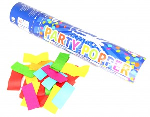 Party Popper Multicolor Papier
