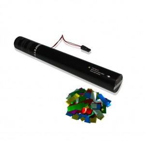 50cm E-Konfetti Shooter - Multiolour Metallic Konfetti