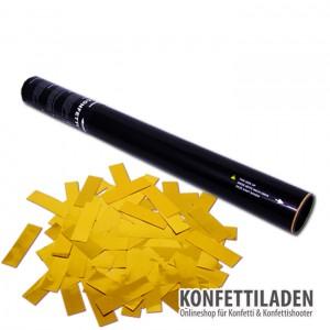50cm Hand Konfetti Shooter - Gold Metallic Konfetti