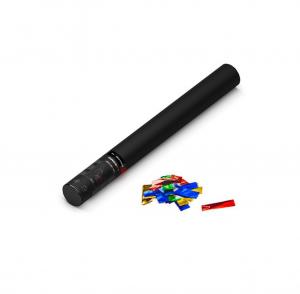 50cm Hand Konfetti Shooter - Multicolor Metallic Konfetti