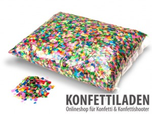 Powderfetti Konfetti - 6x6mm - Multicolor