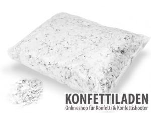 Powderfetti Konfetti - 6x6mm - Weiss