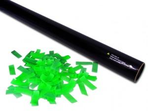 80 cm Hand Konfettikanone -PRO- Grün UV Aktiv