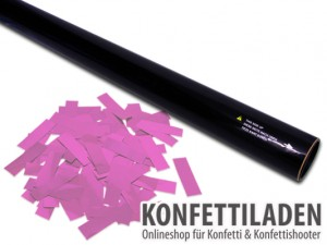 80cm Hand Konfetti Shooter -PRO- Slow fall Konfetti - Pink