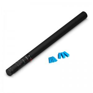 80cm Hand Konfetti Shooter - PRO - Hellblau Papier