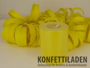 Jumbo Luftschlangen - Gelb