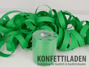 Jumbo Luftschlangen - Grün