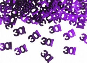 Streukonfetti - 30! - Purple