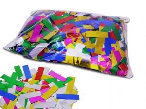 Multicolour Metallic Konfetti