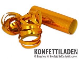 Luftschlangen - Gold Metallic