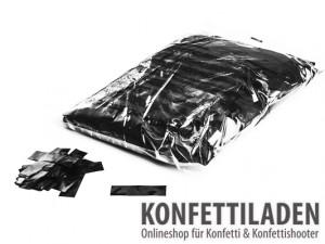 Metallic Konfetti - Schwarz