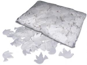 SFP Konfetti - Tauben - weiß