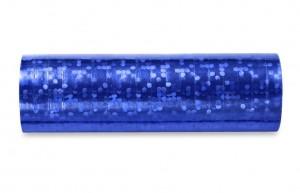 Hologramm Luftschlangen - Dark Blue