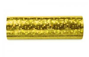 Hologramm Luftschlangen - Gold