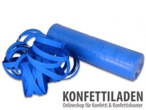 Luftschlangen - Blau
