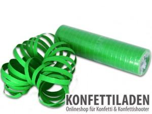 Luftschlangen - Grün