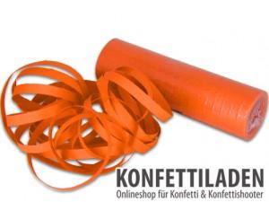 Luftschlangen - Orange