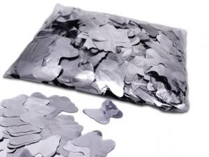 Silber Metallic Butterflies