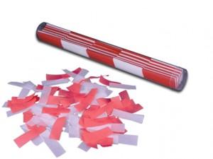 Konfetti Stick - Rot / Weiß