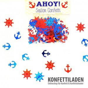 Streukonfetti - Ahoy - Seemann