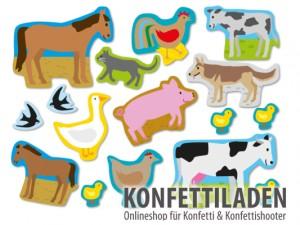 XXL Konfetti - Bauernhof