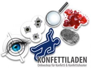 XXL Konfetti - Detektiv