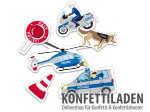 XXL Konfetti - Polizei