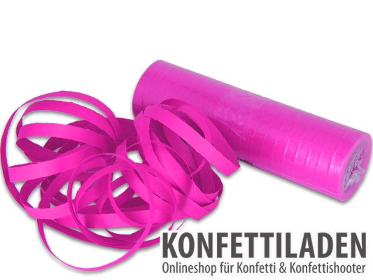 Luftschlangen - Pink
