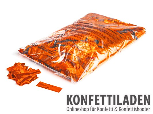 Metallic Konfetti - Orange