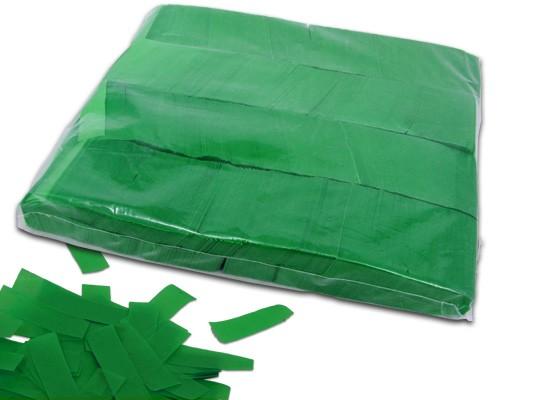 Dunkelgrün - Slow falling Paper Konfetti